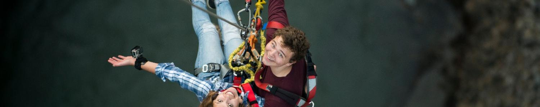 Best bungee swing from The Last Resort Nepal