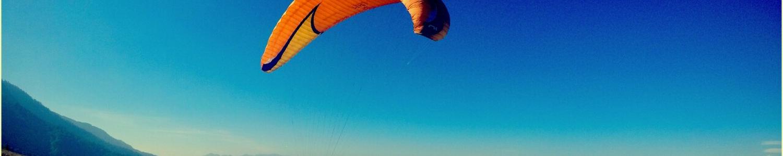 paragliding take-off