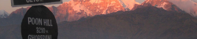 Poon Hill 3210 m Ghorepani trek