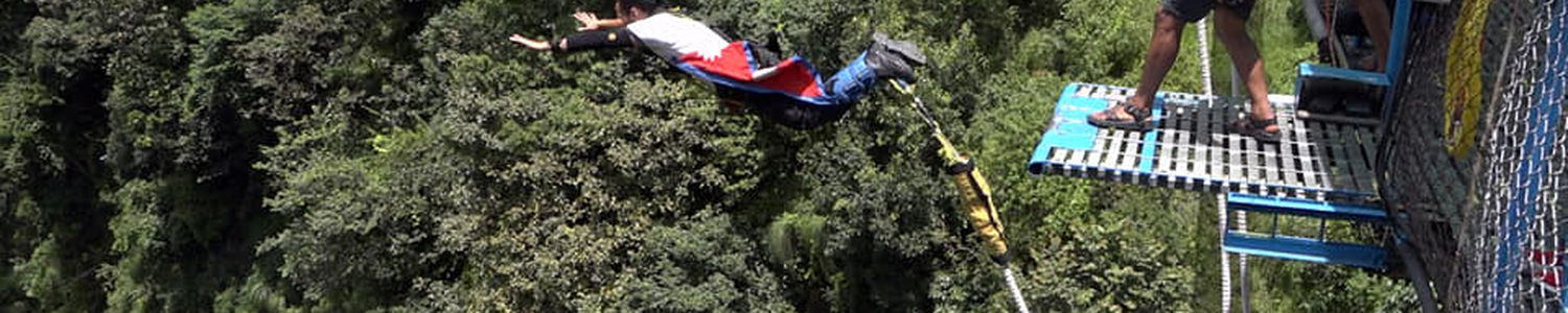 Most popular bungee jumping from The Last Resort