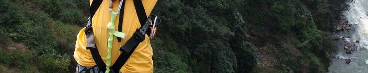 Scary Bungee Jumping in Nepal from The Last Resort