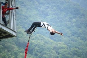 Best Bugee diving at Highground Adventure